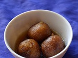 Sweet potato gulab jamun - sweet potato jamun recipe