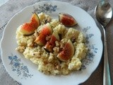 Perfect Breakfast: Millet with Banana Puree & Orange Blossom Water