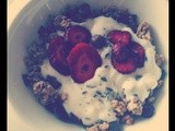 Perfect Breakfast: Muesli, Strawberries, Lavender & Rose Water