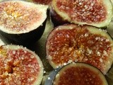 Sweet Couscous with Baked Figs & Lebnah
