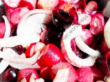 Salade de radis et cerises / Radish and Cherry Salad