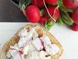 Tartinade au thon et aux radis / Tuna and Radish Spread