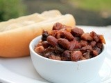 Apple Cinnamon Baked Beans