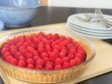 Chocolate-Rasperry Tart with Graham Cracker Crust