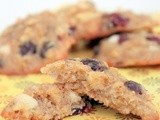 Cran-Apple, White Chocolate Chip Cookies