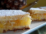 Iou: Pineapple Pie Squares