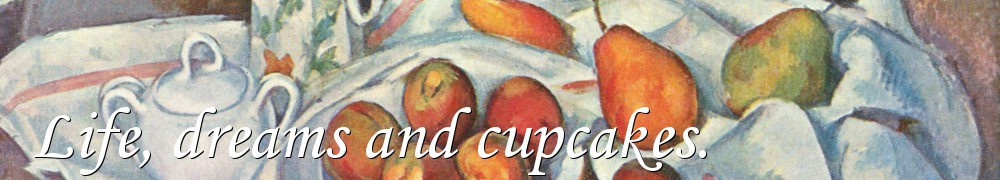 Very Good Recipes - Life, dreams and cupcakes.