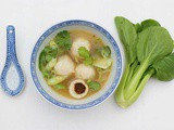Easy #fat-free salty and sour #fish-ball soup