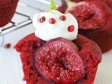Red velvet #fig cupcakes for my #valentine