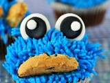 The blue monster #cupcakes