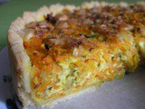 Carrot Pie with Chunky Parmesan