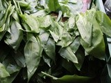 Kohlrabi and wild garlic soup