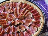 Sweet and Savoury Fig and Feta Tart
