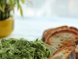 Wild Garlic and Broccoli Dip