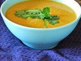Fragrant Coconut and Sweet Potato Soup