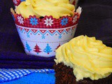 Gingerbread Cupcakes with St. Clement's Buttercream