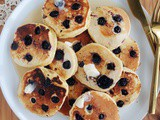 Blueberry Corn Griddlecakes