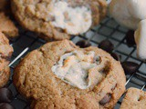 Brown Butter s'mores Chocolate Chip Cookies