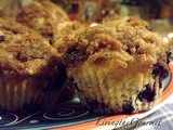 Brown Sugar Crumb Topping Blueberry Muffins