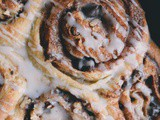 Candied Pecan & Dark Chocolate Cinnamon Rolls