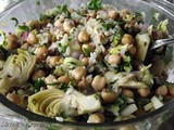 ~ Chickpea and Rice Salad ~