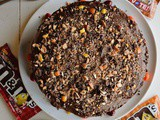 Coffee Nut Chocolate Cake
