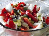 ~ Cold ~ Marinated Vegetable Salad ~