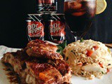Dr. Pepper Cherry Soda Ribs