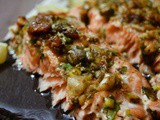 Fresh Fig & Herb Marinated Salmon