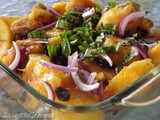 ~ Fresh Peach Salad ~