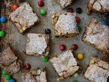 Fudge Blondie Bars aka Fabulous Blondies