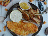 Goldfish Crackers Crusted Baked Fish and Chips