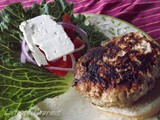 ~ Greek Style Pork Burgers ~