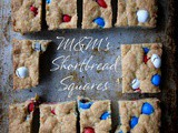 M&m's Shortbread Squares