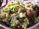 ~ Mediterranean Style Escarole and Orzo Salad ~