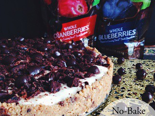 No-Bake Cheesecake with dove® Fruit
