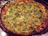 No Crust - Bacon, Cheese and Broccoli Quiche