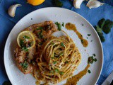 Pork Piccata with Linguine