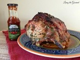 Pork Rib End Roast feat. Ballymaloe Gourmet Irish Ketchup