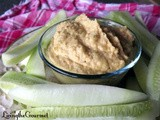 ~ Quick and Easy Chickpea and Pickle Dip ~