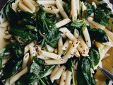 Spinach and Pasta Toss
