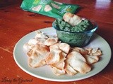 Spinach Cannellini Dip & a Wrap featuring Stonefire Naan Crisps