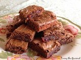 Strawberry & Chocolate Brownies & a Good Cup of Coffee