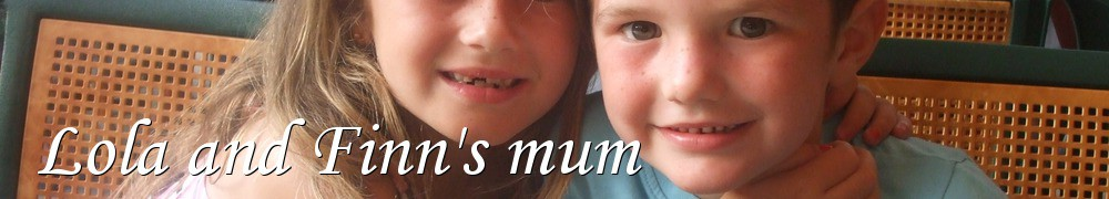 Very Good Recipes - Lola and Finn's mum