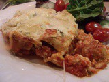 Not quite Barefoot Contessa - Lasagne with Chicken Sausage