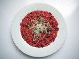 Oh, mon amour! Risotto aux betteraves rouges