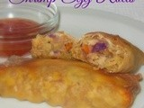 Baked Shrimp Egg Rolls – Great Game Day Appetizer