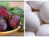 #cic – Deviled Eggs with Fresh Roasted Beets