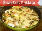Easy Breakfast Frittata – Excellent use for leftovers