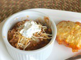 Easy Weeknight Stove Top Vegetarian Chili with Corn Bread #SWBeans #ad